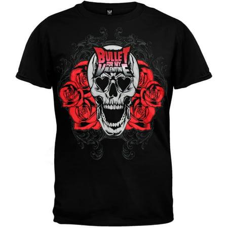 Bullet For My Valentine - Skull Bloom T-Shirt
