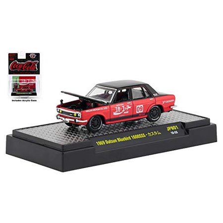 M2 Machines Limited Edition Coca-Cola Auto Japan Series - 1969 Datsun Bluebird 1600SSS