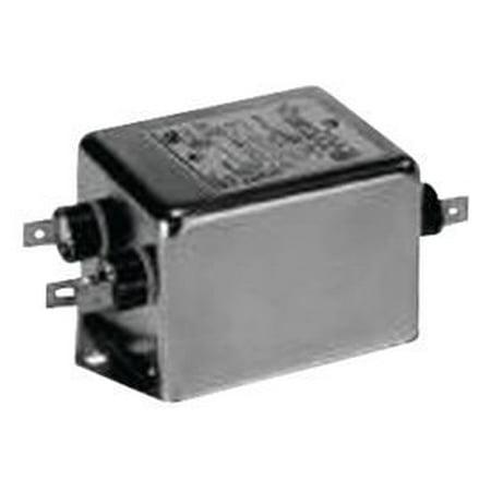 TE Connectivity 10EP1 Filter; 10 A; 250 VAC (Max.); 50/60 Hz; Panel (Vac Panel)