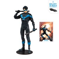 """McFarlane Toys DC Multiverse (2 Of 3) Collector Edition Build-a-batmobile Nightwing: Better Than Batman Deluxe 7"""" Figure"""