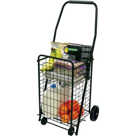 Faucet Queen Helping Hand Pop N Shop Cart With Shelf