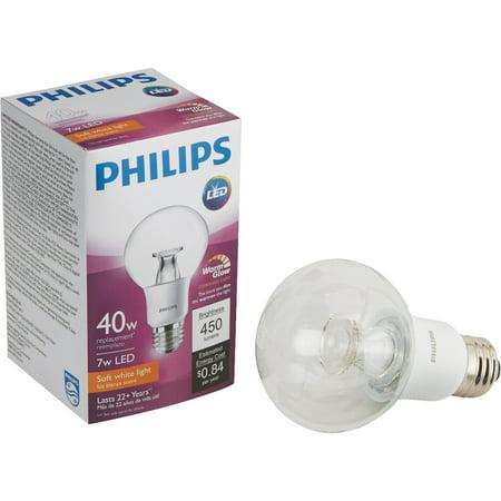 Philips Warm Glow G25 Medium Dimmable LED Decorative Globe Light - Glove Led