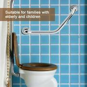 Anauto Stainless Steel Grab Bar, Hand Rail,Thicken Stainless Steel Bathroom Bathtub Grab Bar Safety Hand Rail for Bath Shower Toilet
