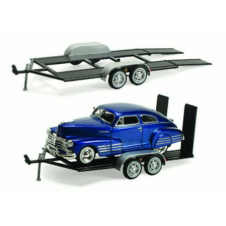 Toy Carrier Trailer - Trailer Car Carrier - Motormax 76001 - 1/24 scale Diecast Model Toy Car
