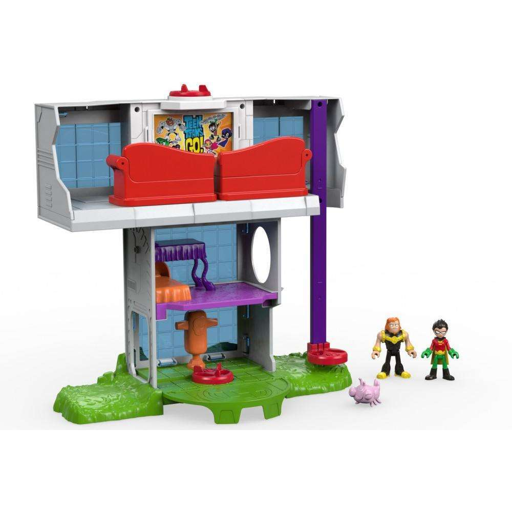 IMaginext Teen Titans Go! Tower by FISHER PRICE