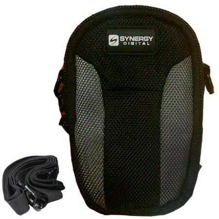 Canon PowerShot ELPH 130 IS Digital Camera Case Replacement by - Vidpro Black Digital Camcorder Bag
