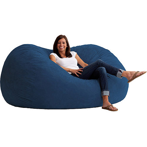 Big Joe XL 6' Fuf Bean Bag Chair, Multiple Colors/Fabrics