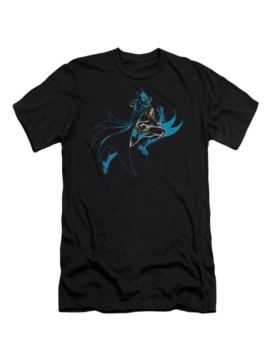 Batman DC Comics Neon Batman Adult Slim T-Shirt Tee by Trevco