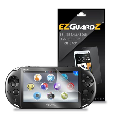 2X EZguardz LCD Screen Protector Skin Cover HD 2X For Sony Playstation Vita Slim (Playstation One Lcd Screen)