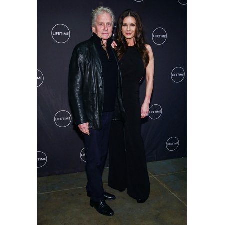 Michael Douglas Catherine Zeta-Jones At Arrivals For Cocaine Godmother The  Griselda Blanco Story Premiere Neuehouse Madison Square New York Ny