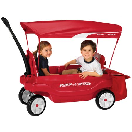 Radio Flyer Ultimate Comfort Canopy Wagon ShopFest Money Saver