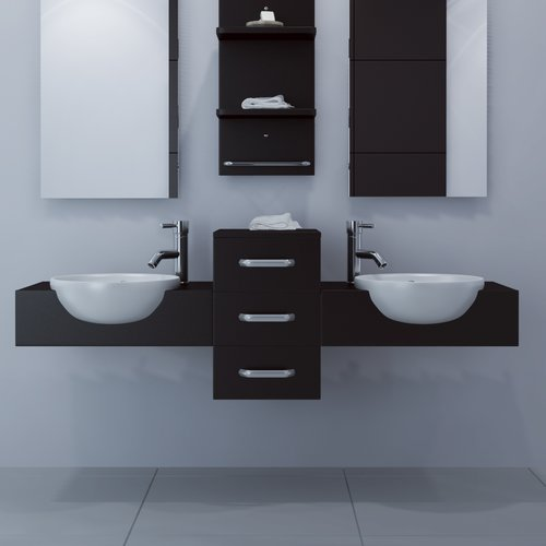 JWH Living Modus 59'' Double Bathroom Vanity by