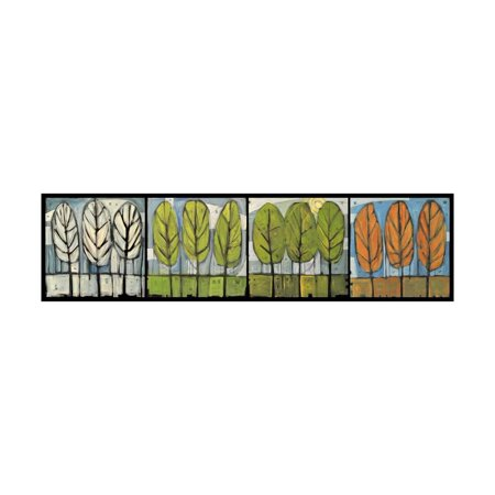 Four Seasons Tree Series Horizontal Print Wall Art By Tim Nyberg