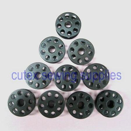 Industrial Bobbins (Cutex (TM) Brand 10 Metal Bobbins For Highlead GC0618-1, GC0618-1-SC Industrial Sewing)