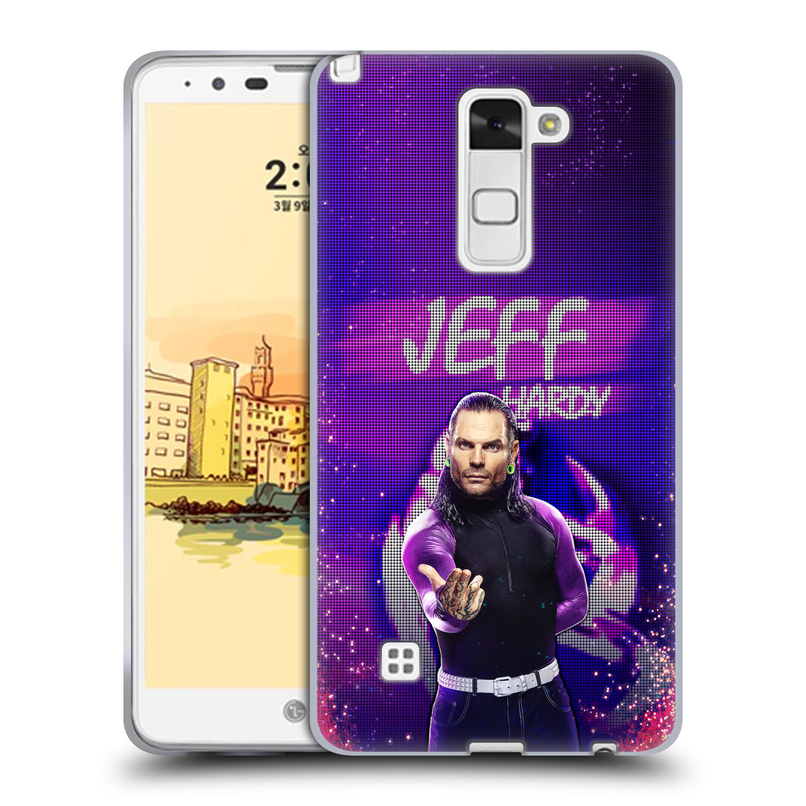OFFICIAL WWE JEFF HARDY SOFT GEL CASE FOR LG PHONES 3