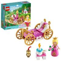 LEGO Disney Aurora?s Royal Carriage 43173 Princess Building Kit (62 Pieces)