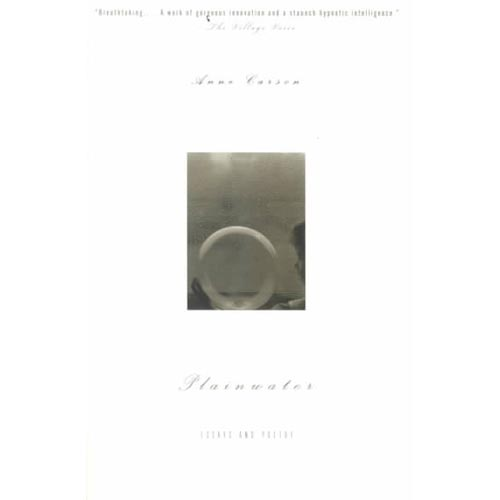 Plainwater : Essays and Poetry