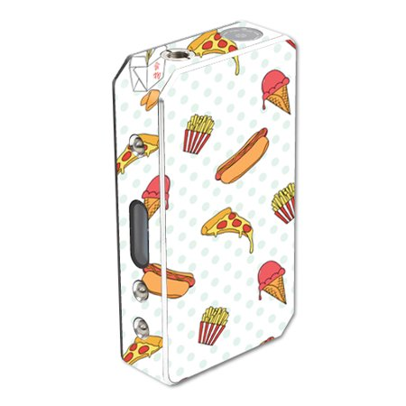 Skin For Pioneer4you iPV 3 150W – Food Junkie | MightySkins Protective, Durable, and Unique Vinyl Decal wrap cover | Easy To Apply, Remove, and Change Styles | Made in the USA