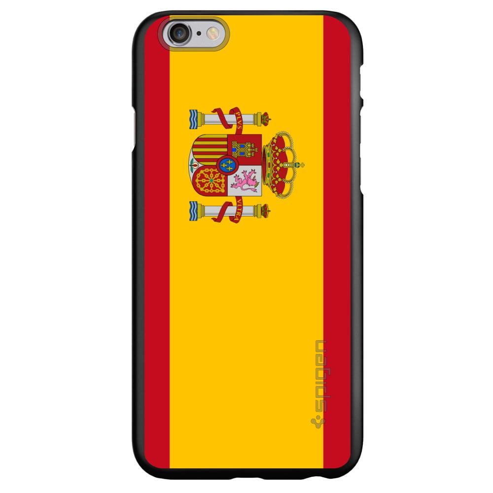 "CUSTOM Black Spigen Thin Fit Case for Apple iPhone 7   iPhone 8 (4.7""..."