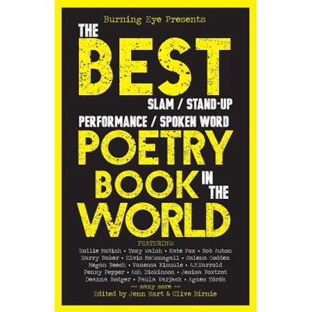 The Best Slam/Stand-Up/Performance/Spoken Word Poetry Book in the