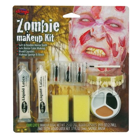 Zombie Makeup Kit - Simple Halloween Makeup Zombie