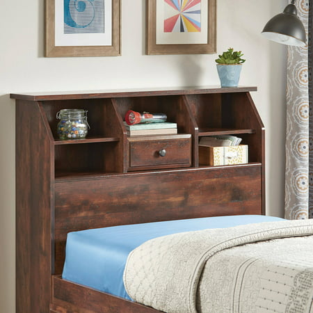 Better Homes and Gardens Leighton Twin Bookcase Headboard