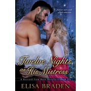 Twelve Nights as His Mistress - eBook