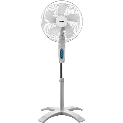 """Optimus 16"""" Wave Oscillating Stand Fan with Remote Control  FNOP1760"""
