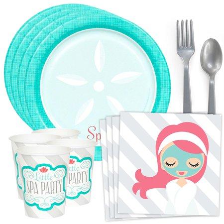 Little Spa Standard Tableware Kit (Serves 8)