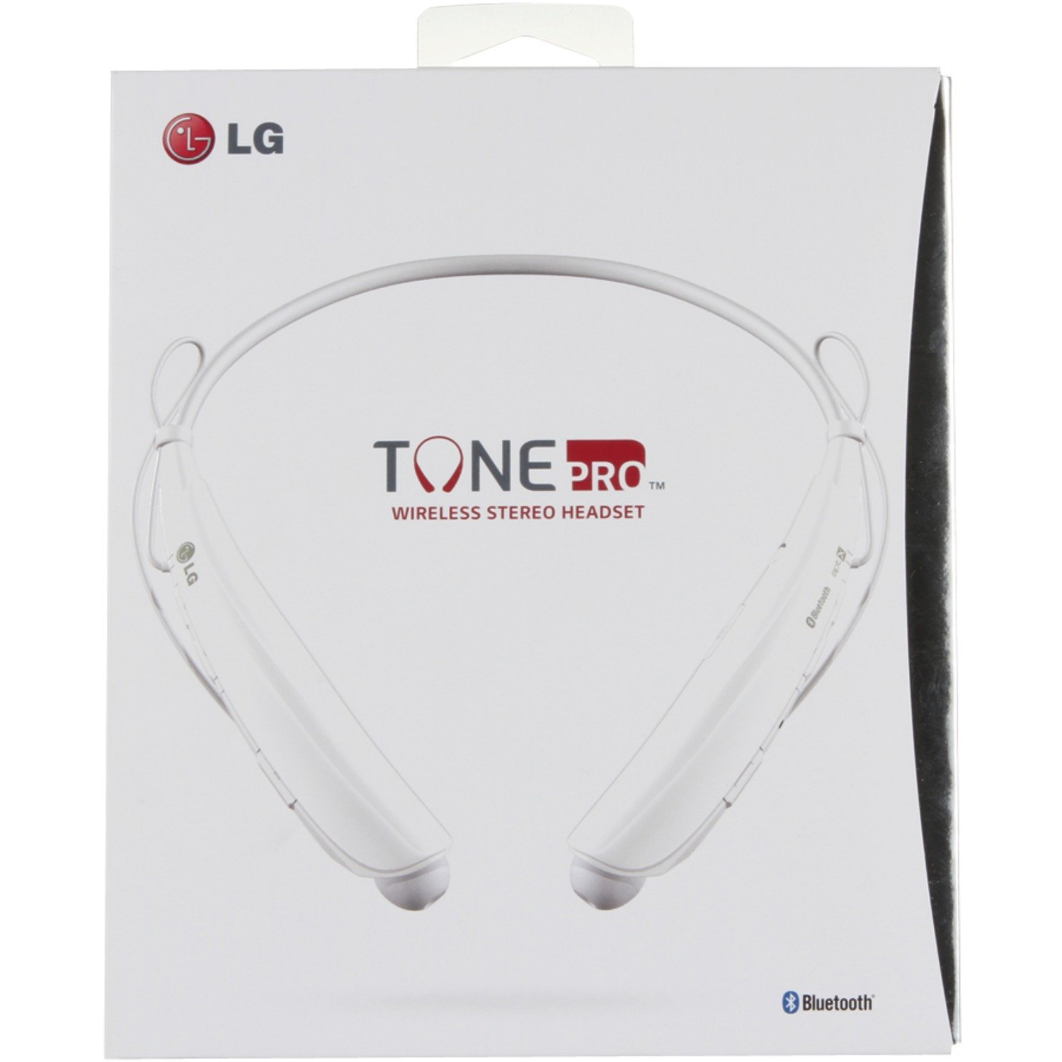 LG Tone Pro Bluetooth Stereo Headset White - 4124C