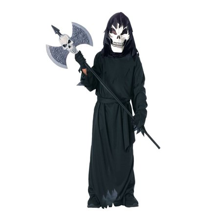 Halloween Scary Skeleton Child Costume - Scary Halloween Ideas For Work