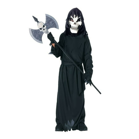 Halloween Scary Skeleton Child Costume