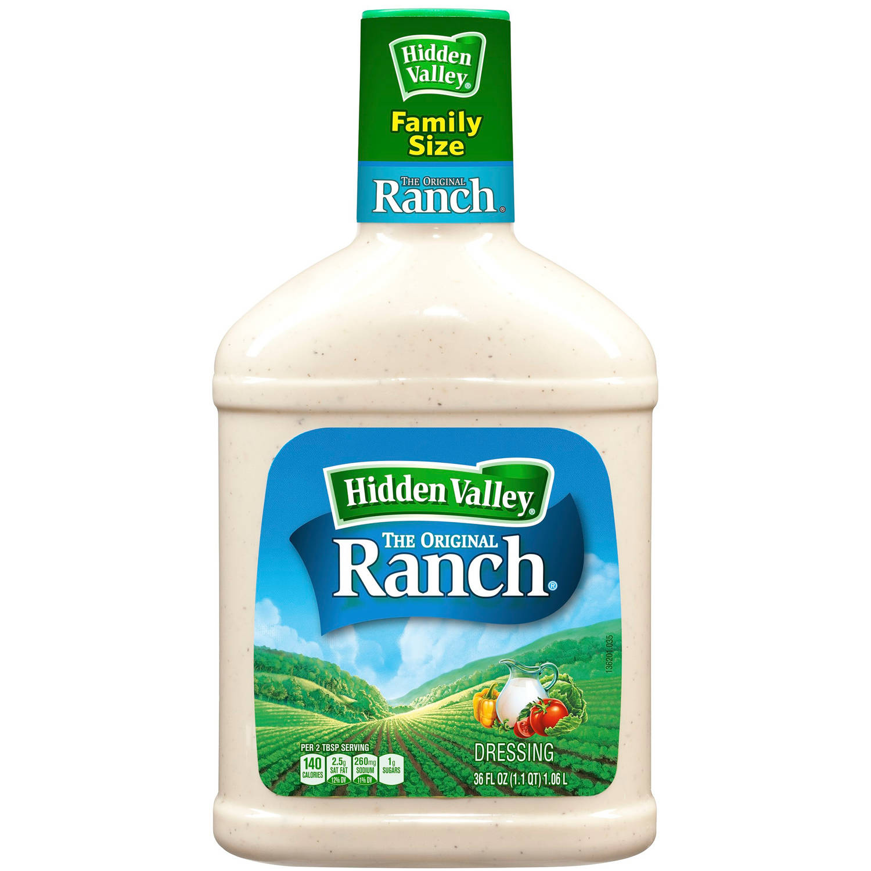 Hidden Valley Original Ranch Dressing, 36 fl oz