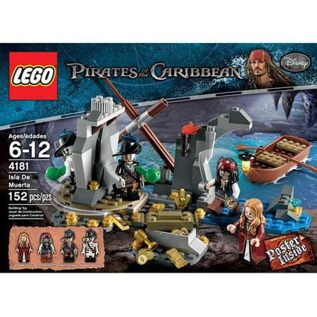 LEGO Pirates of the Caribbean Isla De Muerta - Hector Barbossa