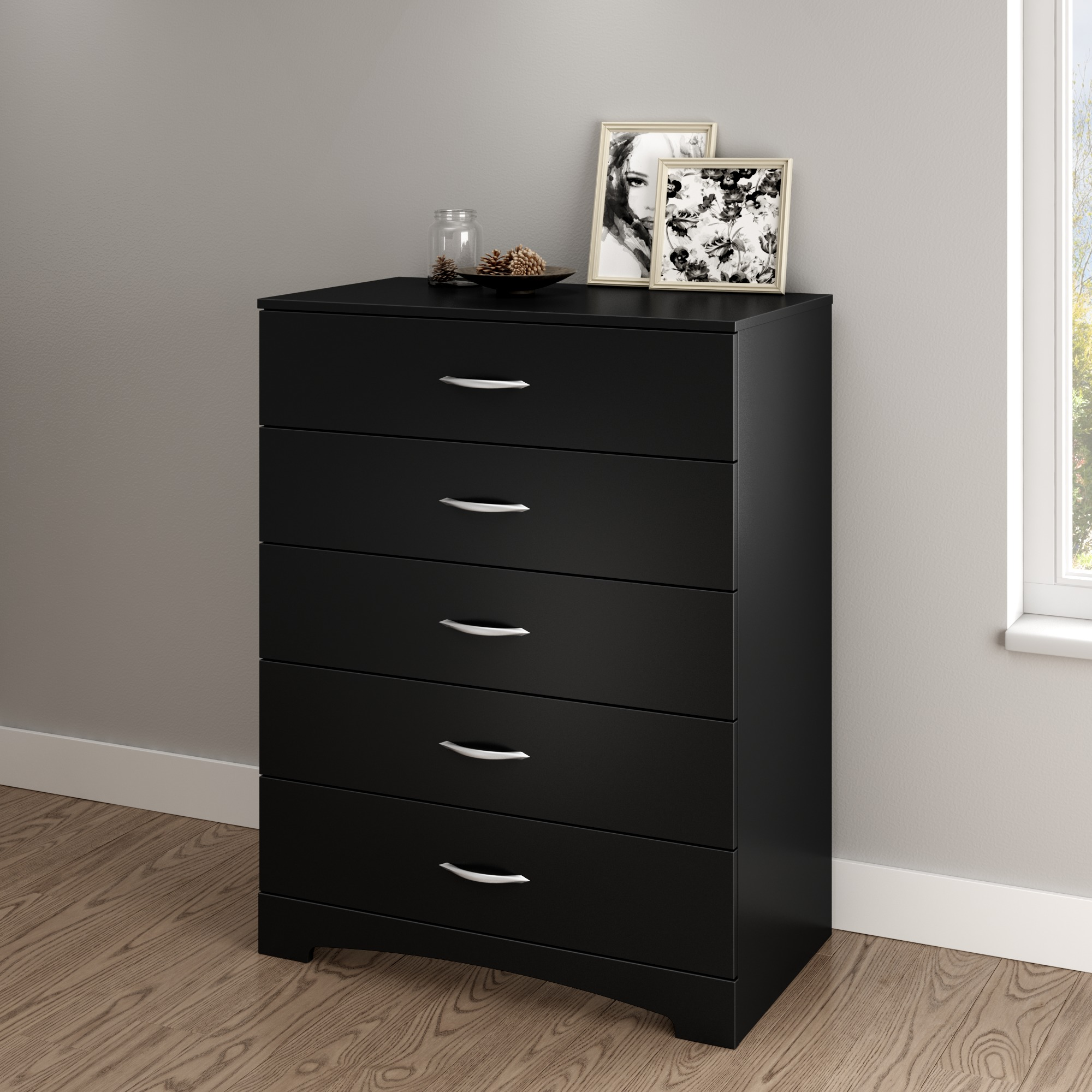 South Shore SoHo 5-Drawer Dresser, Multiple Finishes