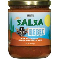 Classic salsa - Mexican flavors from fresh peppers, tomatoes and onions in the red hot Aubrey D. Salsa - tickle your tongue with a zesty zing