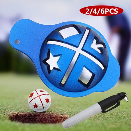 Golf Ball Line Liner Marker Template Drawing Alignment Mark Tool