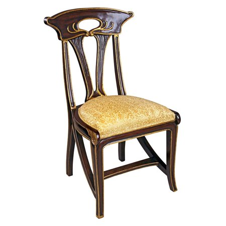 MAJORELLE ART NOUVEAU ARM CHAIR                 NR