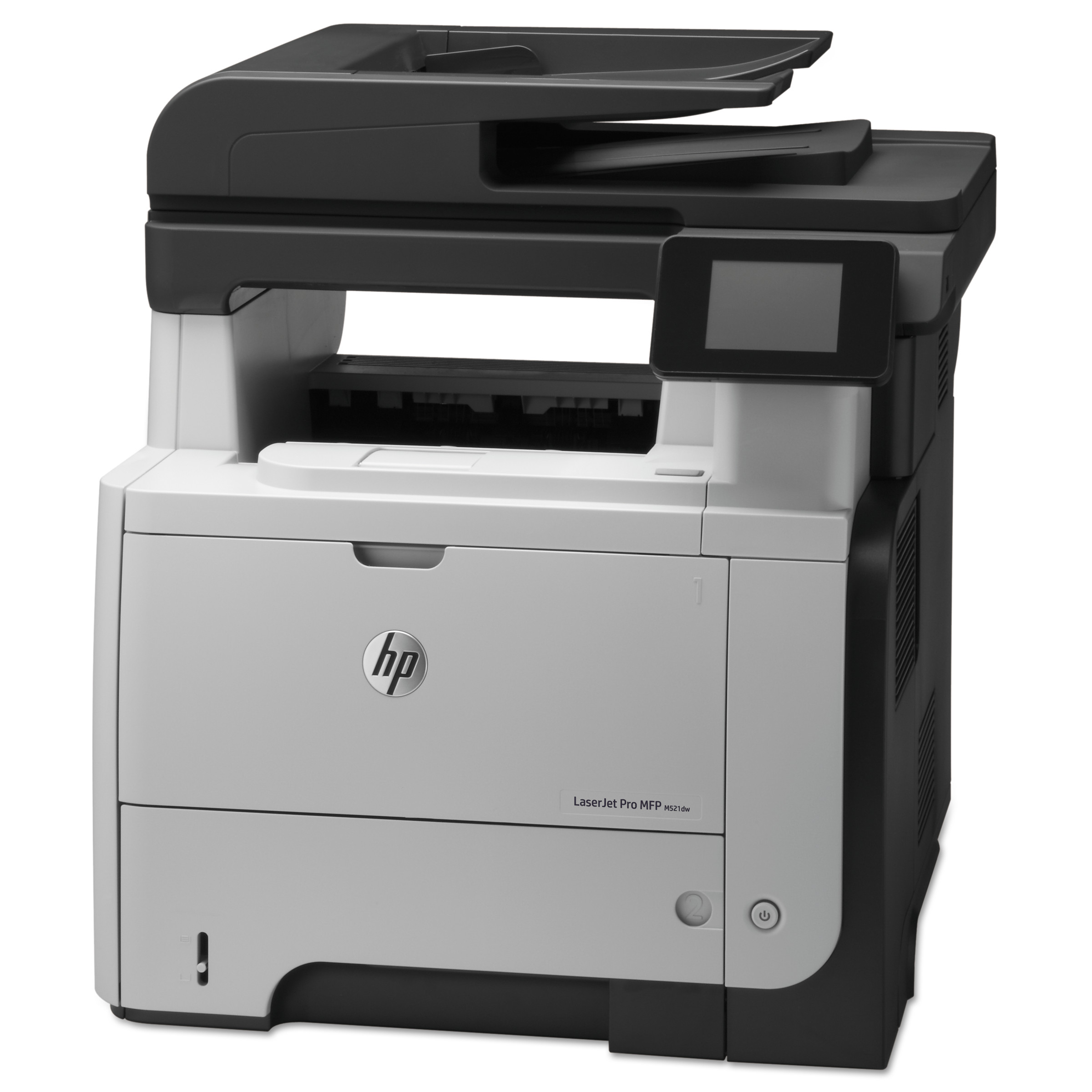 HP LaserJet Pro M521dn Multifunction Laser Printer, Copy Fax Print Scan by HP