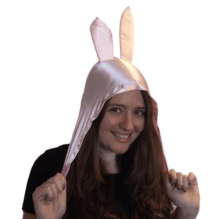 Louise Bunny Ears Hat Bob's Burgers TV Belcher Cosplay Costume Pink Hood Gift](Louise Costume)