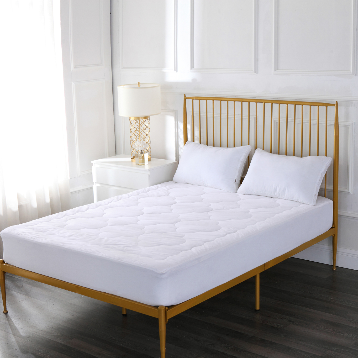 Cloud Stitch 100% Cotton Mattress Pad
