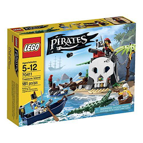 Lego Pirates Treasure Island (70411) by LEGO Systems, Inc.