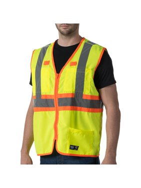 Big Men's Full ANSI II High Visibility Safety Vest, 2XL