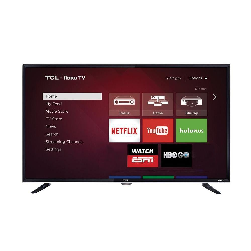 "TCL 55"" Class P-Series 4K Dolby Vision Roku Smart TV"