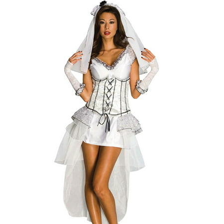 Victorian Gothic Lolita Bridal Wedding Sexy Womens Costume Corset Dress XS-L (Victorian Costume Women)