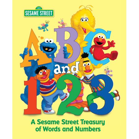 ABC and 1,2,3: A Sesame Street Treasury of Words and Numbers (Sesame Street) for $<!---->