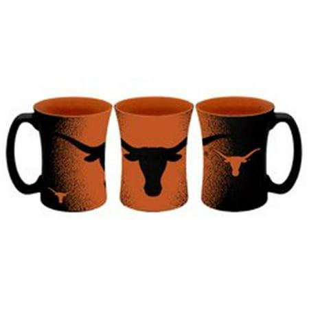 Texas Longhorns Coffee Mug 14oz Mocha Style Texas Longhorns Kitchen
