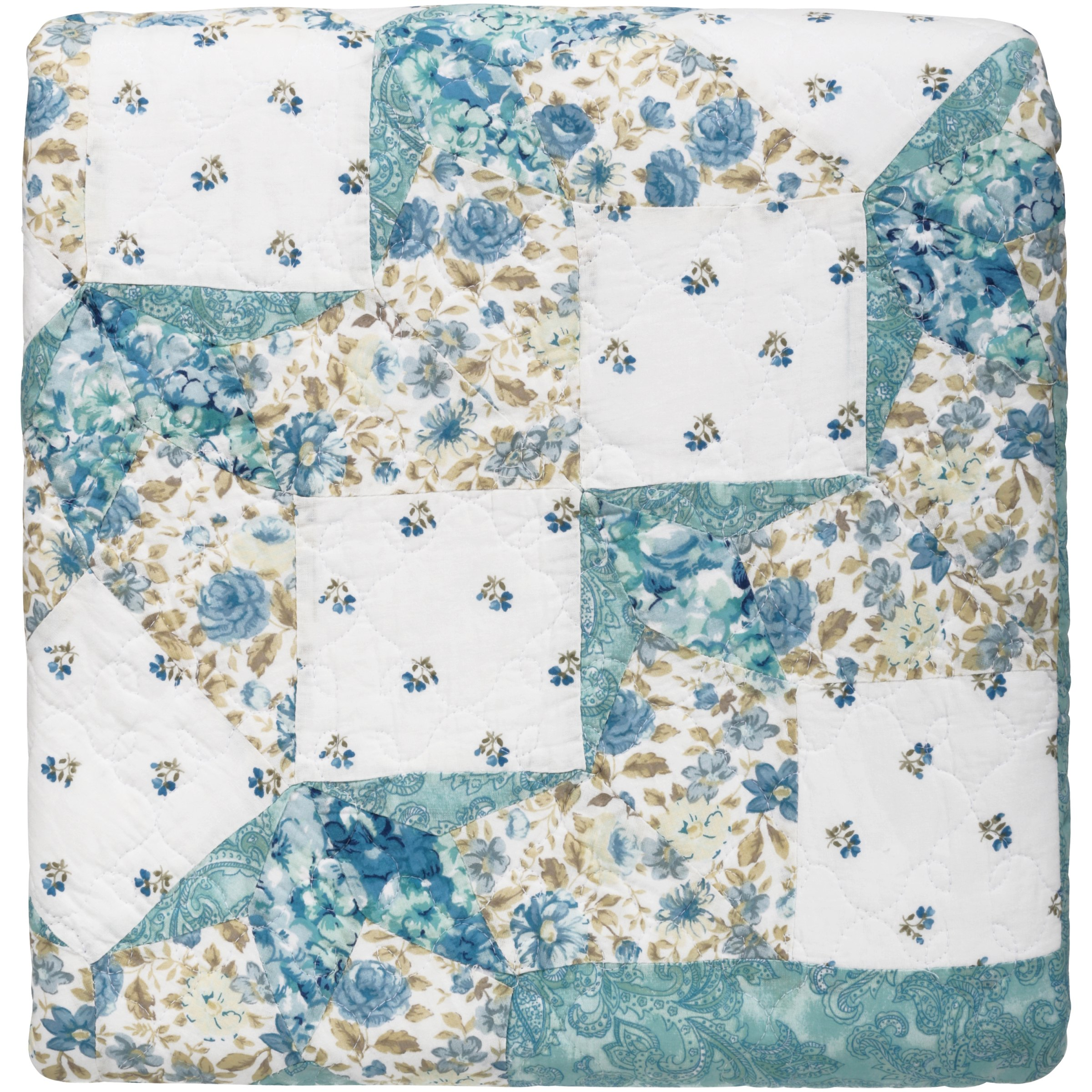 Better Homes and Gardens Polka Dot Patchwork Quilt