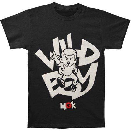 Machine Gun Kelly  Music  Mens  Cartoon Boy Slim Fit T Shirt Black