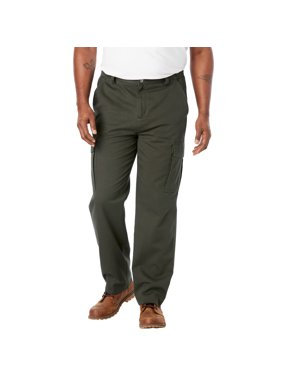 Boulder Creek Men's Big & Tall Boulder Creek Side-elastic Waist Cargo Pants